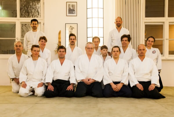 Aikido Gruppe des Dojos