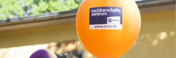 Luftballon mit nusz Logo