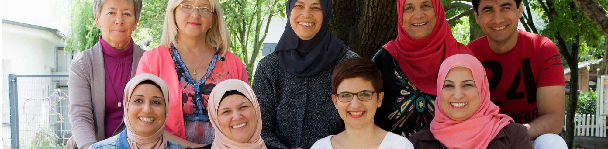 das Team der Integrationslotsinnen