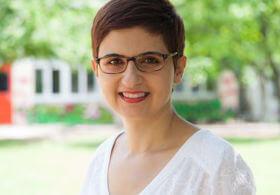 Die Koordinatorin der Integrationslotsinnen Aysel Meral