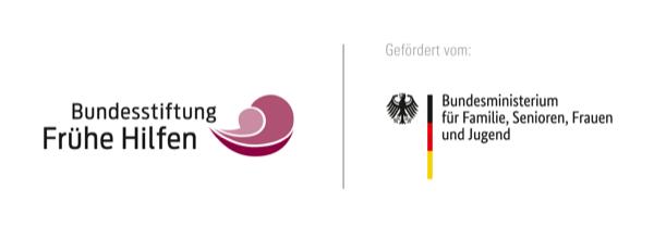 Logos der Bundesstiftung frühe Hilfen