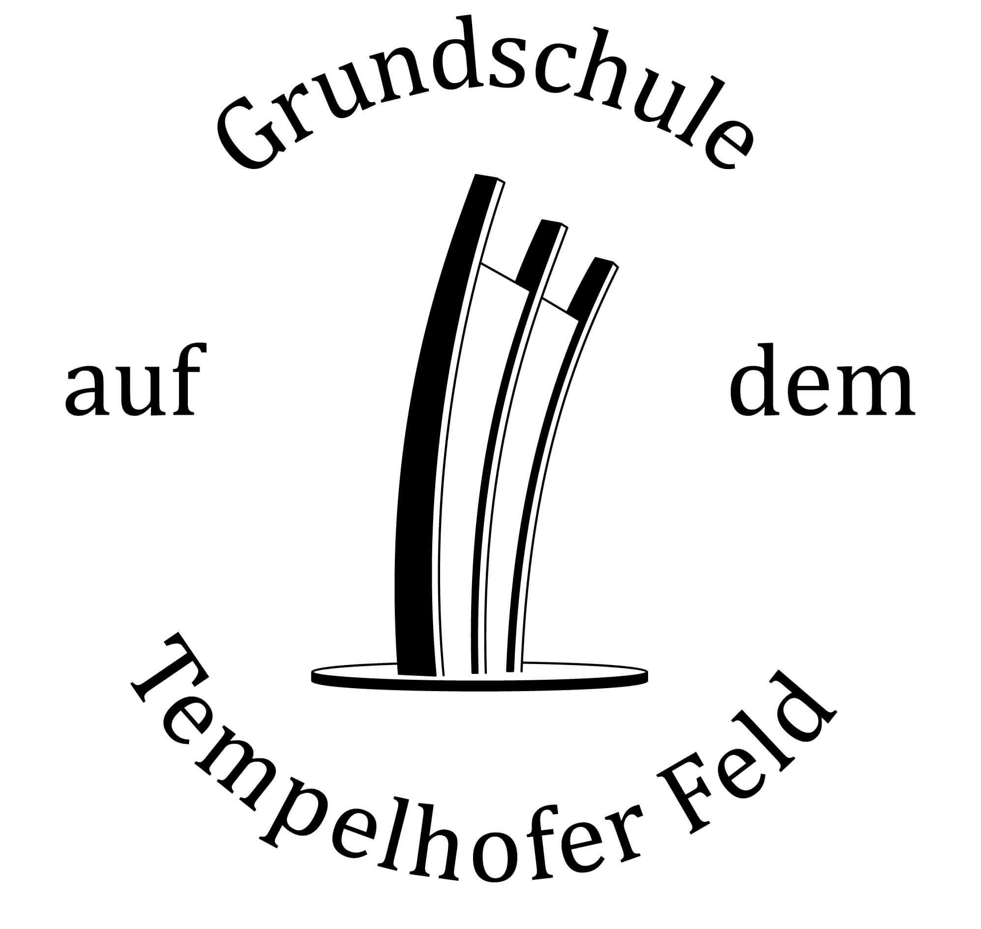 Logo der Grundschule auf dem Tempelhfoer Feld