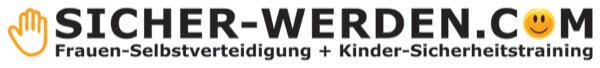 Ein Logo mit dem Schriftzug: Sicher-werden.com