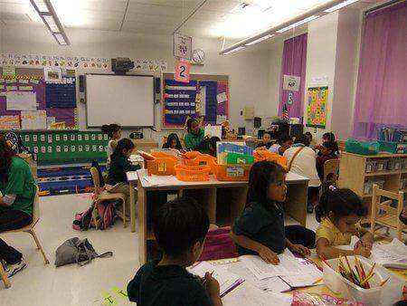 Ein Kindergarten in New York