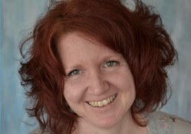 Leitung des Workshops mit rotem Haar