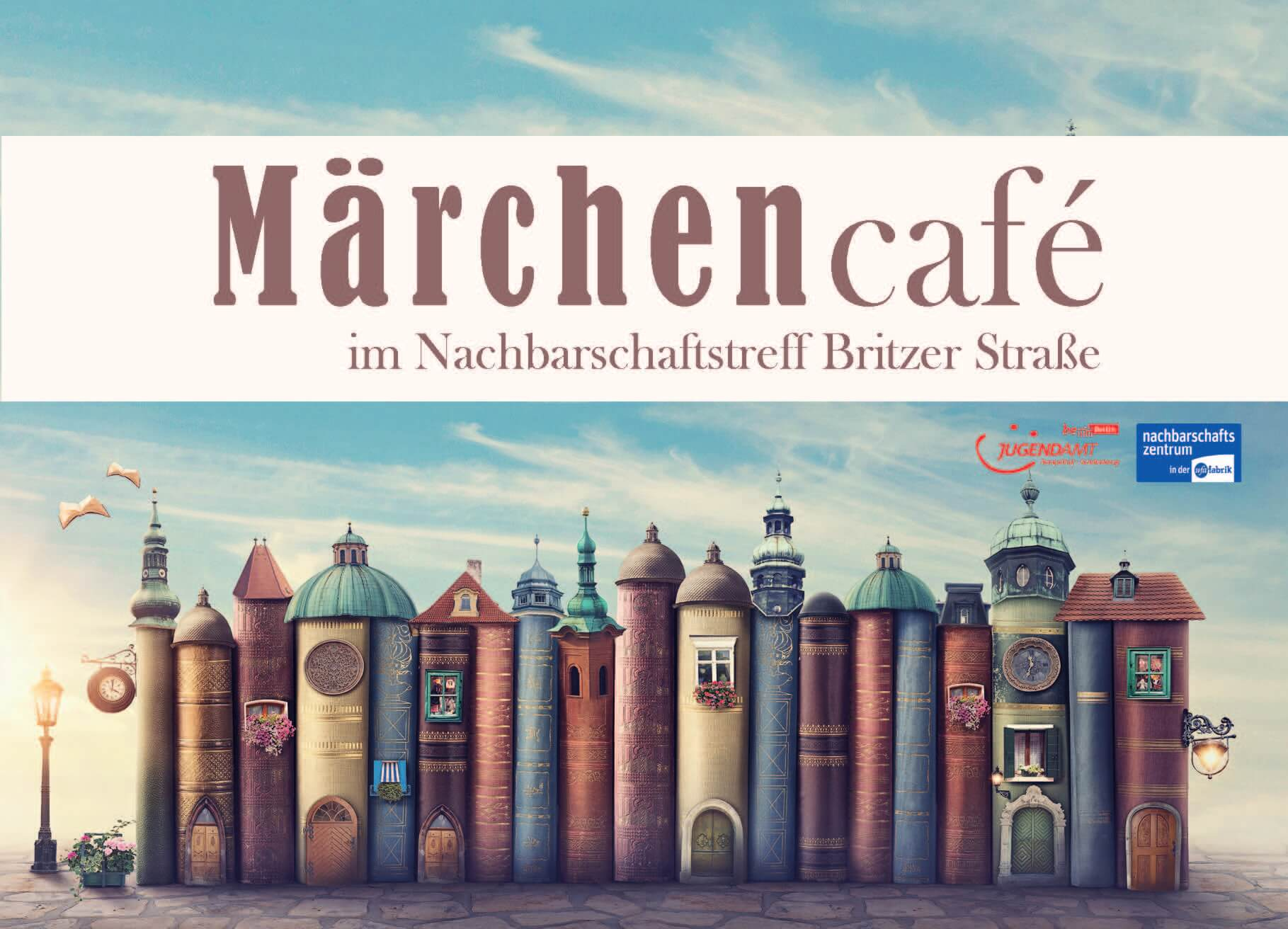 Flyer des Märchencafés